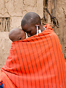 Africa, Tanzania, members of the Datoga tribe Woman October 2008