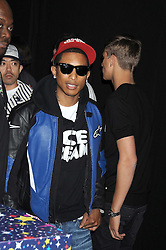PHARRELL WILLIAMS at a party to celebrate the launch of Billionaire Boys Club Ice Cream Season 7 at Harvey Nichols, Knightsbridge, London on 18th June 2008.<br /><br />NON EXCLUSIVE - WORLD RIGHTS