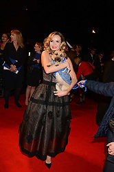 AMANDA HOLDEN at the Collars & Coats Gala Ball in aid of Battersea Dogs & Cats Home held at Battersea Evolution, Battersea Park, London on 7th November 2013.