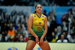 23-08-2009 VOLLEYBAL: WGP FINALS JAPAN - BRAZILIE: TOKYO <br /> Brazilie wint met 3-1 van Japan en zijn de winnaar van de Grand Prix 2009 / Natalia Pereira<br /> ©2009-WWW.FOTOHOOGENDOORN.NL