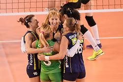 09-04-2016 ITA: CEV DenizBank Champions League Fenerbahce Grundig Istanbul - VakıfBank Istanbul, Montichiari<br /> Vakifbank wint met 3-0 en plaatst zich voor de finale / <br /> <br /> ***NETHERLANDS ONLY***