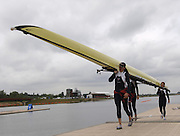 2005 FISA World Cup, Dorney Lake, Eton, ENGLAND, 25.05.05..GBR W4X Stroke Kath Grainger, Frances Houghton, Sarah Wickless and Rebecca Romero.. Photo  Peter Spurrier.  email images@intersport-images...[Mandatory Credit Peter Spurrier/ Intersport Images] , Rowing Courses, Dorney Lake, Eton. ENGLAND