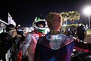 November 14, 2020. IMSA Weathertech Mobil1 Sebring 12h: #16 Wright Motorsports, Porsche 911 GT3 R, Patrick Long, #911 Porsche GT Team Porsche 911 RSR, GTLM: Nick Tandy