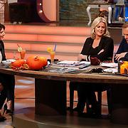 NLD/Hilversum/20121028 - Uitzending Life4You met Carlo Boszhard en Irene Moors, Kim van Kooten