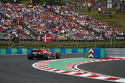 July 28, 2018 - Budapest, Hungary - Motorsports: FIA Formula One World Championship 2018, Grand Prix of Hungary, .#7 Kimi Raikkonen (FIN, Scuderia Ferrari) (Credit Image: © Hoch Zwei via ZUMA Wire)