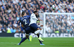 Daryl Janmaat of Watford and Danny Rose of Tottenham Hotspur challenge for the ball - Mandatory by-line: Arron Gent/JMP - 19/10/2019 - FOOTBALL - Tottenham Hotspur Stadium - London, England - Tottenham Hotspur v Watford - Premier League