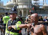 Black Lives Matter Protest, Brighton, 13-06-2020. 130620