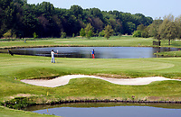 AMSTERDAM - Amsterdamse Golf Club, hole 18.  COPYRIGHT KOEN SUYK
