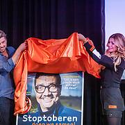 NLD/Amsterdam/20200903 - Kick off Stoptober 2020, Estelle Gullit en Rick Brandsteder