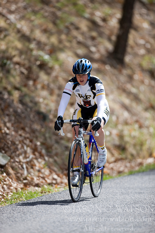 The James Madison University Cycling Club hosted the JMU Hill Climb Time Trial up Reddish Knob, VA through the George Washington National Forest on March 29, 2008.