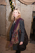 MARYAM D'ABO; , Night paintings by Paul Benney, Crypt, Somerset House. London. 4 October 2012.