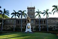 King Kamehameha statue, Honolulu, Oahu, Hawaii