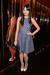 LILAH PARSONS at Rock The Empire - a party hosted by Alexa Chung to celebrate the launch of W Beijing - Chang'an held at the Wyld Bar, W London, Leicester Square, London on 19th February 2015.