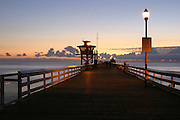Stock Photo of San Clemente Pier at Sunset