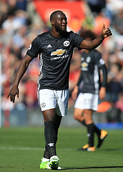 23 September 2017 -  Premier League - Southampton v Manchester United - Romelu Lukaku of Manchester United gives a thumbs up - Photo: Marc Atkins/Offside