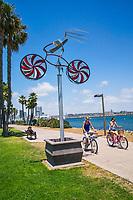 Cyclists, Coronado Island