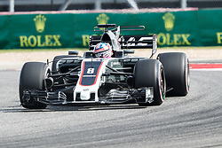 October 20, 2017 - Austin, Texas, U.S - Lotus driver Romain Grosjean (8) of France in action before the Formula 1 United States Grand Prix race at the Circuit of the Americas race track in Austin,Texas. (Credit Image: © Dan Wozniak via ZUMA Wire)