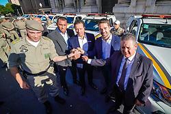 Porto Alegre, RS - 27/02/2020: Ato de entrega de oito viaturas para a Brigada Militar. Foto: Jefferson Bernardes/PMPA