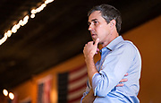 Democratic 2020 presidential candidate Beto O'Rourke, 46, speaks with supporters during a three day road trip across Iowa, in Mount Pleasant, Iowa, U.S., March 15, 2019.  REUTERS/Ben Brewer