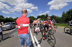 July 4, 2017 - Mondorf Les Bains / Vittel, Luxembourg / France - VITTEL, FRANCE - JULY 4 : DE GENDT Thomas (BEL) Rider of Team Lotto - Soudal during stage 4 of the 104th edition of the 2017 Tour de France cycling race, a stage of 207.5 kms between Mondorf-Les-Bains and Vittel on July 04, 2017 in Vittel, France, 04/07/2017 (Credit Image: © Panoramic via ZUMA Press)