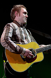 David Grey plays a Concert to a sellout Sheffield Hallam FM Arena  November 29 2002 Friday<br />