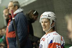 Marcel Rodman of Slovenia during ice-hockey match between Slovenia and France in Slovenia Euro ice hockey challenge, on November 9, 2012 at Hala Tivoli, Ljubljana, Slovenia. (Photo By Grega Valancic / Sportida)