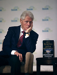 "President Bill Clinton, James Patterson BookCon interview for their book ""The President Is Missing"". 03 Jun 2018 Pictured: President Bill Clinton. Photo credit: SteveSands/NewYorkNewswire/MEGA TheMegaAgency.com +1 888 505 6342"