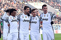 Esultanza Gol Sami Khedira Juventus 0-2 Goal celebration <br /> Reggio Emilia 29-1-2017 Mapei Stadium  Campionato Italiano Serie A 2016/2017 <br /> Sassuolo - Juventus Foto Andrea Staccioli / Insidefoto