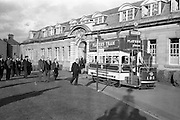 15/03/1963<br /> 03/15/1963<br /> 15 March 1963<br /> Players Tram float display. The Lord Mayor of Dublin Alderman J.J. O'Keeffe T.D. P.C., inaugurating the new Players Tram float which was to take part in the annual St. Patrick's Day N.A.I.D.A. Parade.