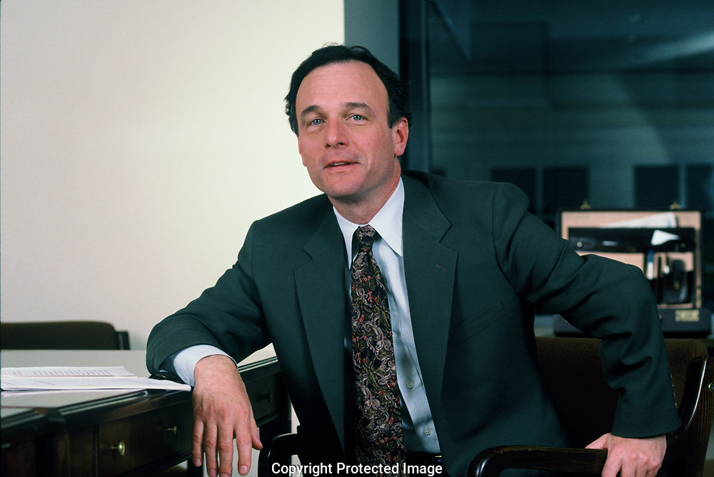 John W. Keker, the chief prosecutor in the Oliver L. North trial in June 1989<br /> Photo by Dennis Brack