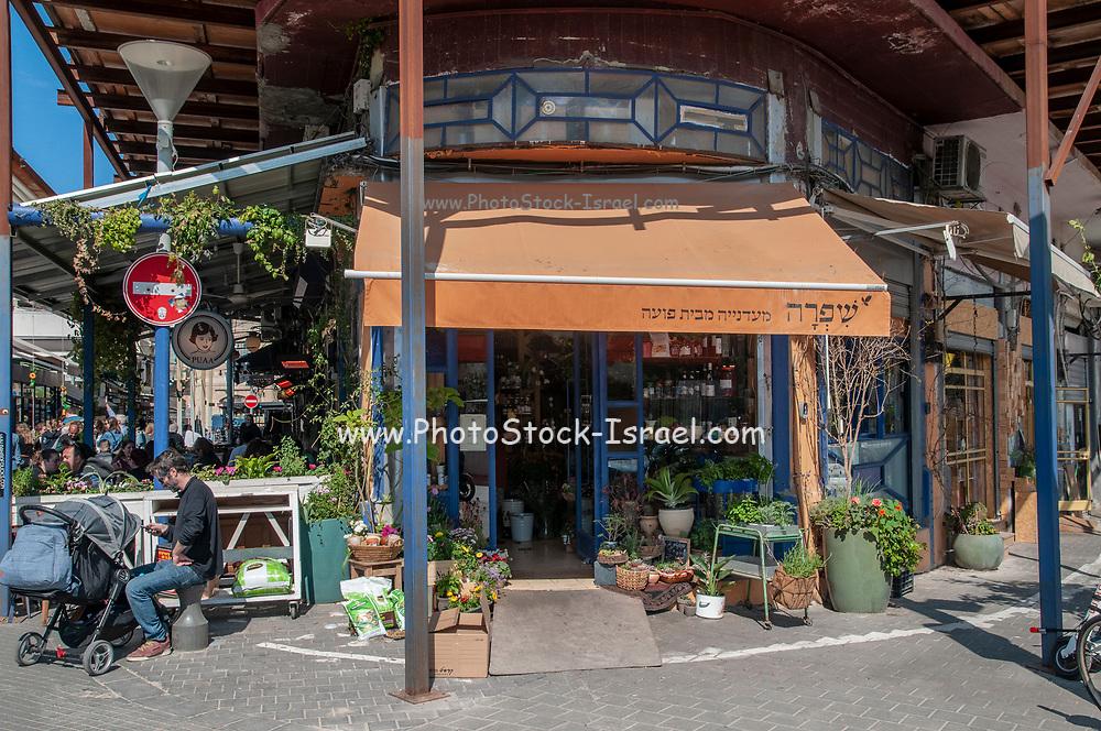A shop at the Flea market in Jaffa, Israel