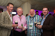 A stimulating Business Diary Date: 29th September to 1st October, Burlington Hotel Dublin – Irish Pubs Global Gathering Event.<br /><br />Pictured at the event- <br />David Smith, Diageo, Ireland<br />Charlie Chawke, Ireland<br />Tom Elan, Slieveardagh Distilling, Ireland<br />Harry Hoolahan, Diageo, Ireland<br /><br />•                     21 Countries represented<br />•                     Over 600 Irish Pub Enterprises from around the world<br />•                     The growth of Craft Beers<br />•                     Industry Experts<br />•                     Bord Bia – an export opportunity<br />•                     Transforming a Wet Pub into a Gastro Pub<br /><br />We love our Irish pubs but we of course have seen an indigineous decline resulting in closures nationwide in recent years.<br />Not such a picture worldwide where the Irish pub is a growing business success story.<br />Hence a global event and webcast in Dublin next week, called Irish Pubs Global Gathering Event  in the Burlington Hotel, Dublin, on September 29 to October 1st, backed by LVA and VFI.<br />Spurred on by The Irish Diaspora Global Forum in Dublin Castle 2 years ago, Irish entrepreneur Enda O Coineen has spearheaded www.irishpubsglobal.com into a global network with 20 chapters around the world and a database of over 4,000 REAL Irish pubs.<br />It promises to be a stimulating conference, with speakers bringing a worldwide perspective to the event. The Irish Pubs Global Gathering Event is a unique networking, learning and social gathering. A dynamic three-day programme bringing together Irish Pub owners & managers from all over the world and will focus on 'The Next Generation' of Irish pubs.<br /> <br />Key Note Speakers available for Interview<br />1.       Paul Mangiamele, CEO Bennigans<br />2.      Dr. Pearse Lyons, CEO ALLTECH<br />3.      Enda O Coineen, President of Irish Pubs Global<br />4.      Kingsley Aikins, CEO of Diaspora Matters<br /><br />Paul Mangiamele, CEO Bennigans<