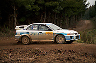 John Long & Damien Long - Mitsubishi Lancer Evo V - Saxon Safari Tasmania - ARC- 11th-12th September 1999