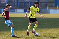 James Jennings. Weymouth FC 1-0 Stockport CountyFC. Vanarama National League. Bob Lucas Stadium. 6.3.21