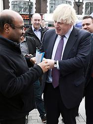 May 19, 2017 - London, UK - London, UK, Boris Johnson - 2017 General Election campaign, (Credit Image: © Tejas Sandhu/London News Pictures via ZUMA Wire)