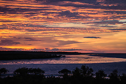 Early morning light over Dampier Creek, Broome, Western Australia.