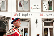 Battle of Waterloo 200th anniversary, Waterloo, Belgium. Pictured, Return of the Duke procession and arrival in Waterloo (Sunday 21 June 2015) © Rudolf Abraham