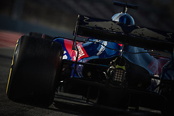 March 7, 2018 - Barcelona, Catalonia, Spain - BRENDON HARTLEY (NZL) takes to the track in his Toro Rosso STR13 during day six of Formula One testing at Circuit de Catalunya (Credit Image: © Matthias Oesterle via ZUMA Wire)