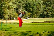 01-09-2016 Golffoto's van het Nationaal Open op de Hilversumsche Golf Club in Hilversum. Finale.  Vince van Veen