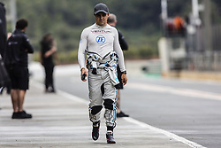 October 19, 2018 - Valencia, Spain - MASSA Felipe (bra), VENTURI Formula E Team portrait during the Formula E official pre-season test at Circuit Ricardo Tormo in Valencia on October 16, 17, 18 and 19, 2018. (Credit Image: © Xavier Bonilla/NurPhoto via ZUMA Press)