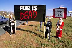 Anti Fur Demostration