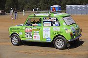 Leyland Mini. Caversham Historic Motoring Fair. Caversham, Perth, Western Australia.<br /> Sunday, 15th November 2009