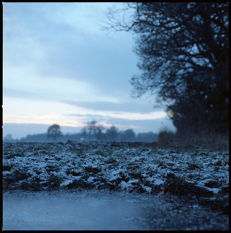 Winter Landscape, Suffolk, 2011