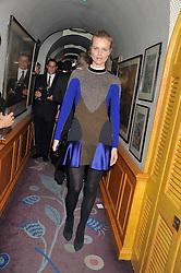 The PAD London 2012 dinner was held at Annabel's, Berkeley Square, London on 10th October 2012.<br /> EVA HERZIGOVA