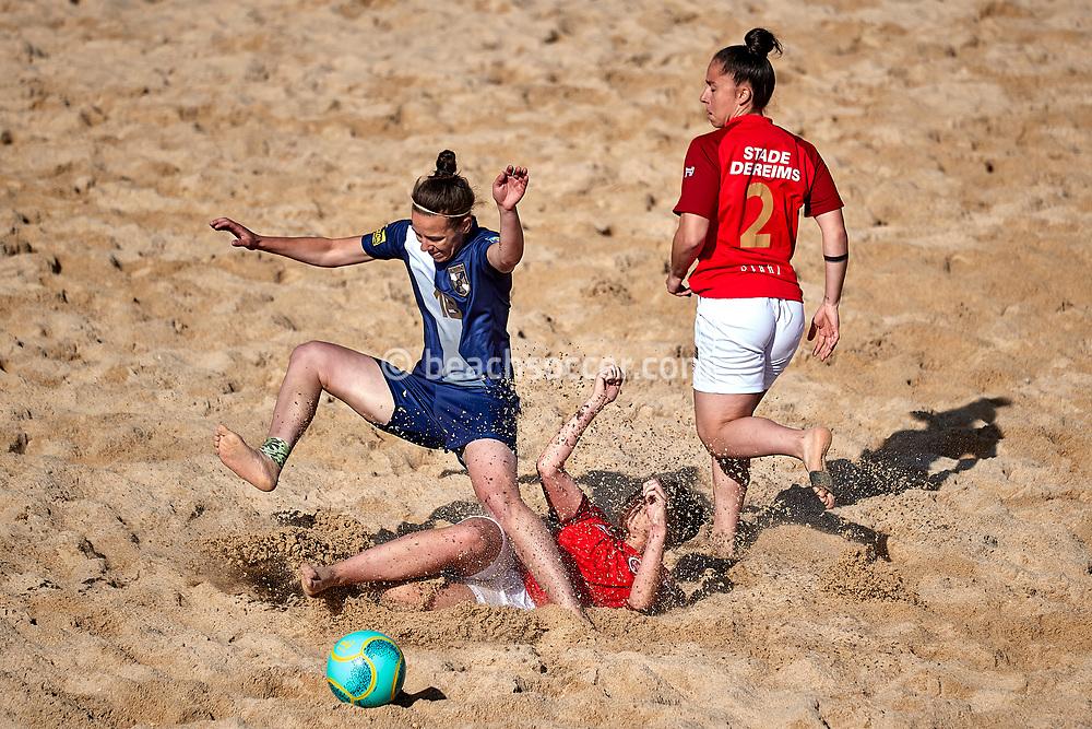 NAZARE, PORTUGAL - JUNE 7: Action during the Euro Winners Cup Nazaré 2019 at Nazaré Beach on June 7, 2019 in Nazaré, Portugal. (Photo by Jose M. Alvarez)