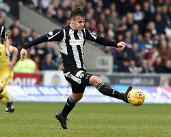 St Mirren's Danny Mullen in action during the Ladbrokes Scottish Championship match at the Paisley 2021 Stadium.
