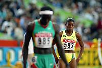 Athletics, 26. august 2003, VM Paris, World Championship in Athletics,  Lorriane Fenton, Jamaica 400 metres