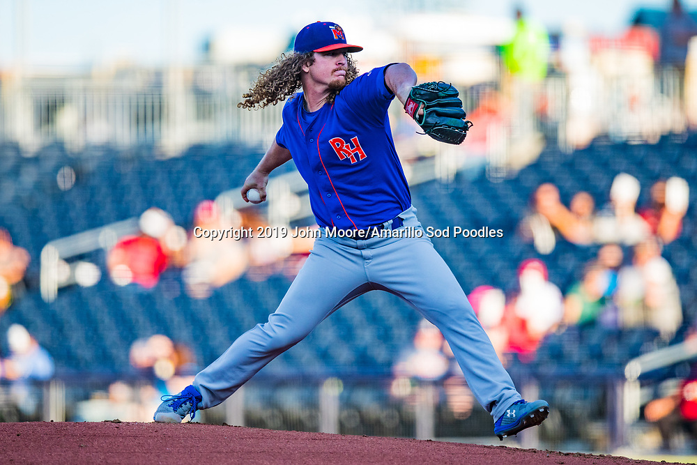 The Amarillo Sod Poodles played against the Midland RockHounds on Wednesday, Aug. 14, 2019, at HODGETOWN in Amarillo, Texas. [Photo by John Moore/Amarillo Sod Poodles]