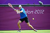Tennis, Mens - Singles - Isner (USA) vs Jaziri (TUN) [Second Round]