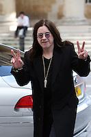 Ozzy Osbourne Pictured Mayfair London